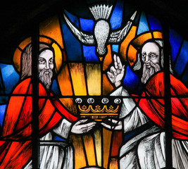 Stained Glass - the Holy Trinity
