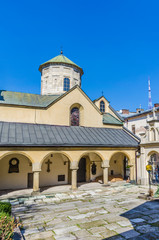 Old armenian church in Lviv city