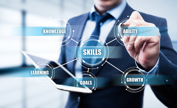 Skill Knowledge Ability Business Internet technology Concept