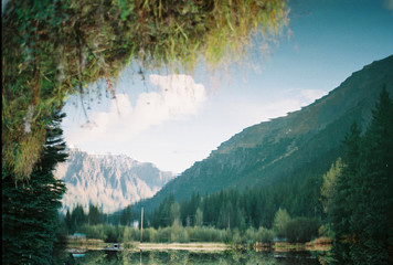 Mountain Reflected in a Still Pond