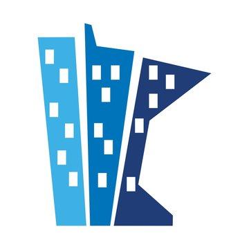 minnesota logo vector. building logo.