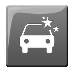 Autowäsche Symbolbutton