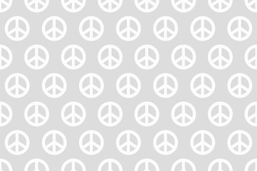 peace seamless wallpaper white