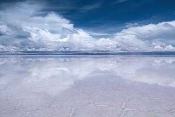 Uyuni Saline (Salar de Uyuni), Aitiplano, Bolivia