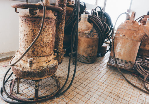 old Submersible Pump