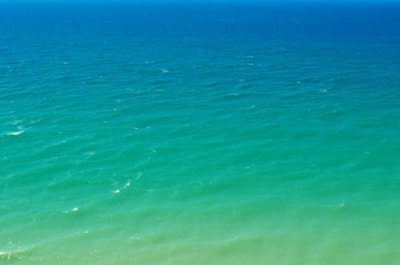Sea in windless weather