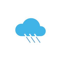 Cloud,Rain Icon Vector