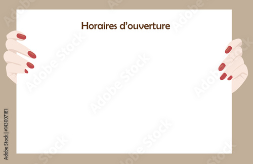 panneau horaires d 39 ouverture stock image and royalty free vector files on pic. Black Bedroom Furniture Sets. Home Design Ideas