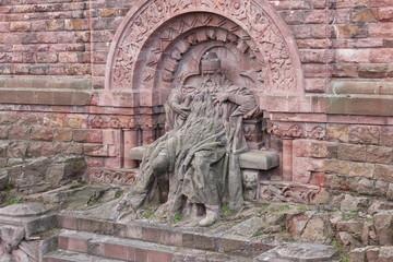 Kyffhäuserdenkmal: Barbarossa (Friedrich I.)