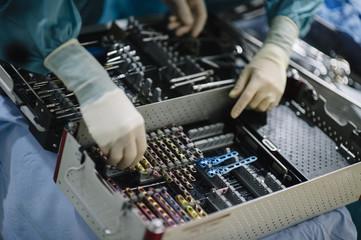 The people choosing medical tools