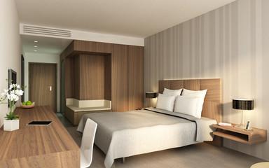 Hotelzimmer P1 Nussbaum