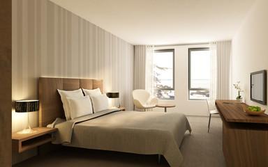 Hotelzimmer P2 Nussbaum