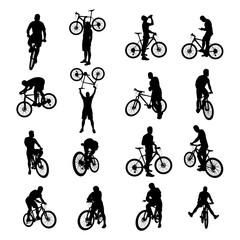 bicycle black set 02