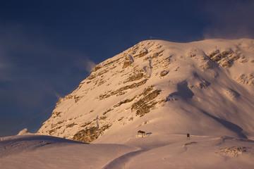 Berg im Wind