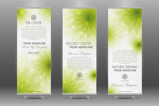 Spa Roll Up Banner