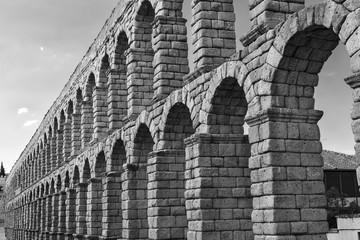 Segovia (Spain): Roman aqueduct