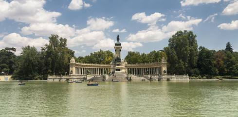 Madrid (Spain): Buen Retiro park