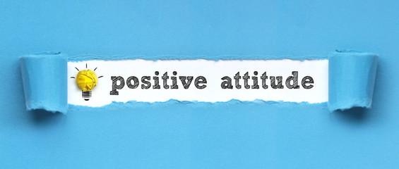 positive attitude / papier