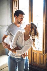Beautiful couple dancing