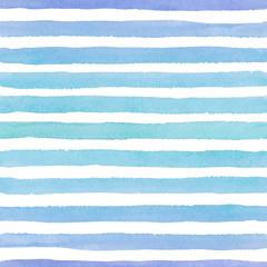 Motif aquarelle transparente dessiné à la main avec des traits bleus colorés sur fond blanc