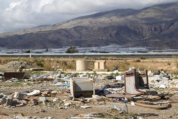 Environmental pollution at El Ejido, Almeria