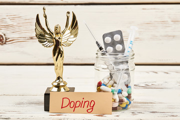 Award, card and drugs. Doping and physical activity.