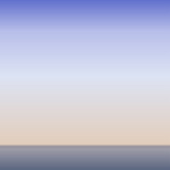 ocean morning horizon vector background in pale tones