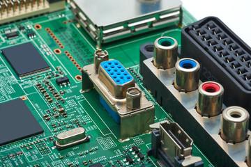 Electronic circuit board.VGA.RGB.HDMI