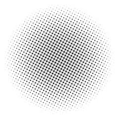Absract halftone geometric background. Vector illustration