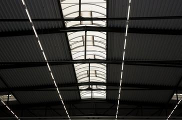 Beleuchtung Fabrikhalle