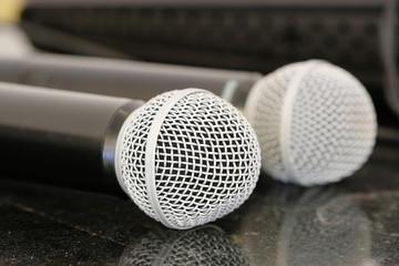 Close up microphones