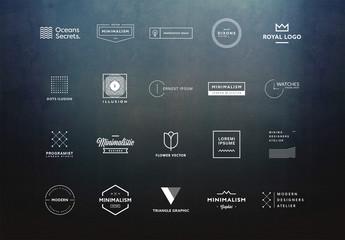 20 Minimalist Logo Layouts 6