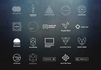 20 Minimalist Logo Layouts 7