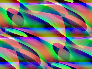 Abstraktes Regenbogenfarben-Muster