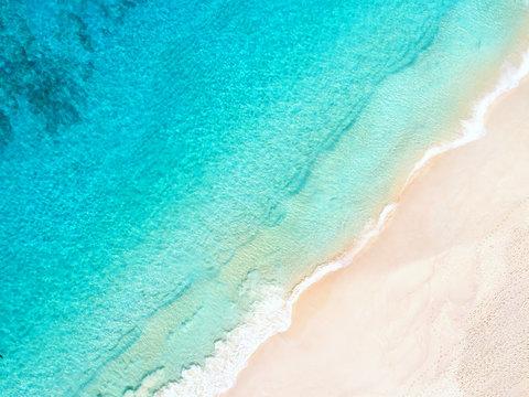 tropischer Sandstrand - Seychellen