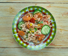 Summery Mexican Chicken Stew