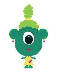 funny little eared monster girl