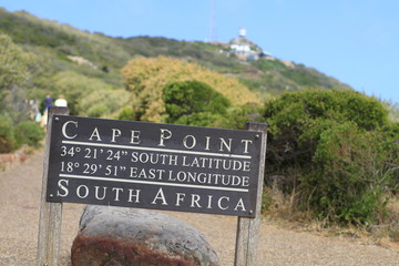 Vue sur Cape Point