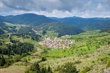 Bulgarian village in mountains 3