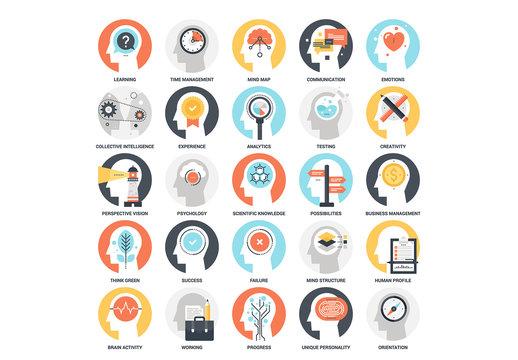 25 Mental Process Icons 5
