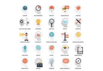 25 Mental Process Icons 10