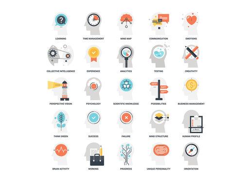 25 Mental Process Icons 10