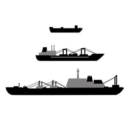 Set of ship