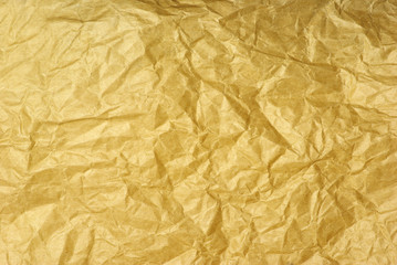 Texture of crumpled paper.