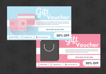 Two Gift Vouchers or Coupons 3