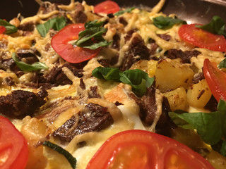 organisch, lifestyle, omlette, bayrische, ochsenfleischpfanne, urban, anlasser, werbetafel, feeds