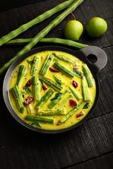 Delicious Moringa mango curry