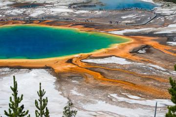 Grand Prismatic Spring, Wyoming