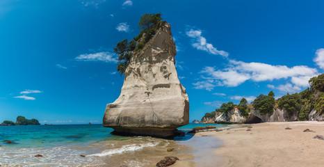 Te Whanganui-A-Hei (Cathedral Cove) Marine Reserve in Coromandel Peninsula North Island, New Zealand.