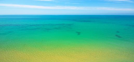 Seascape nature composition